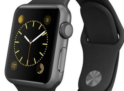 Apple Watch Sport colore nero da 38 mm