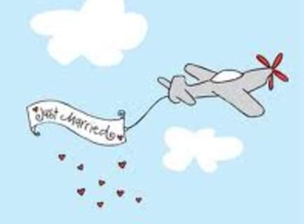 Honeymoon plane tickets