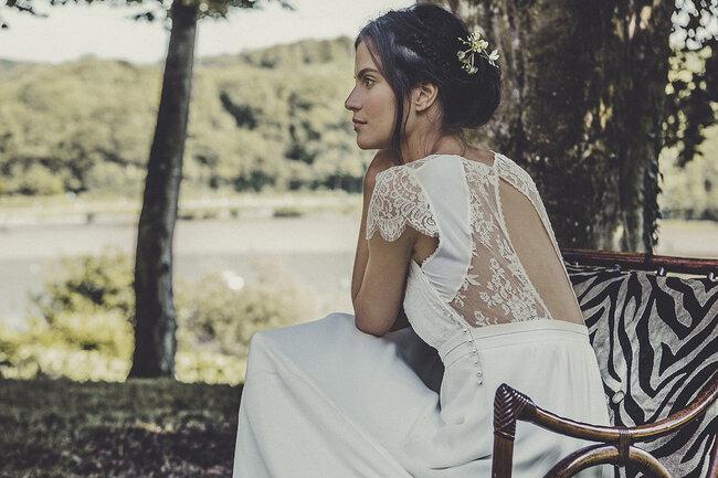 Laure de Sagazan 2015, vestido ALLEN.