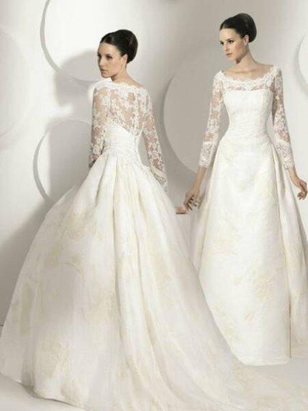 Robe de mariée Franc Sarabia 2012