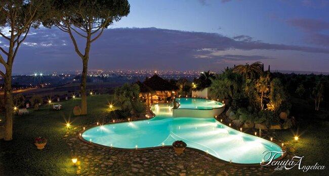 Le 25 pi belle location per matrimonio a roma vota la - Piscina monti tiburtini ...