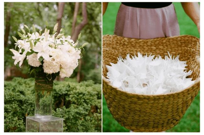 Decoración de boda en blanco - Foto A Simply Chic Event