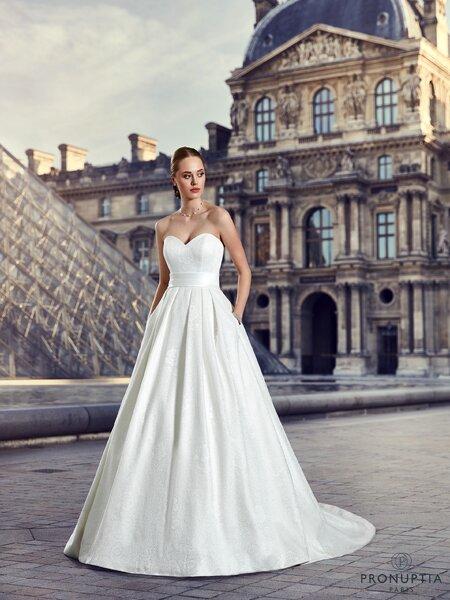 """Robes de mariée Pronuptia 2017 : une collection """"dessinée et ..."""