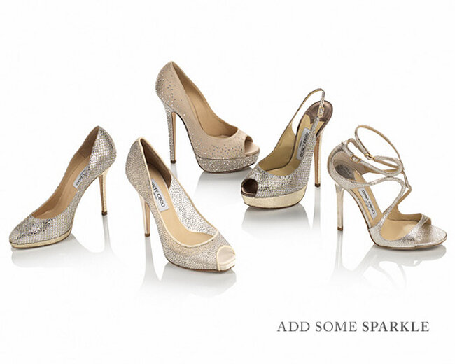 Sapatos para noivas de Jimmy Choo, coleção 2013. Foto: Jimmy Choo