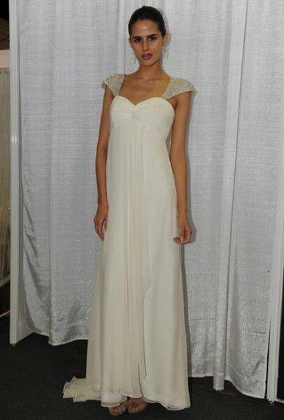 Vestido de noiva coleção Primavera 2013, de Nicole Miller. Foto: Nicole Miller
