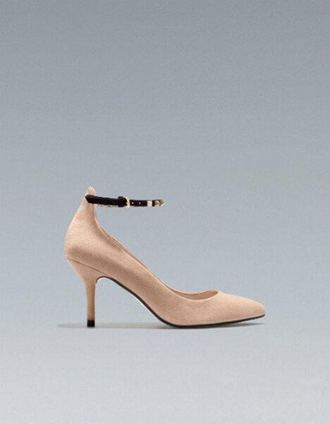 Zapatos para invitadas Otoño-Invierno 2012-2013 de Zara