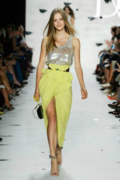 Foto: Diane Von Furstenberg @ Mercede-Benz Fashion Week