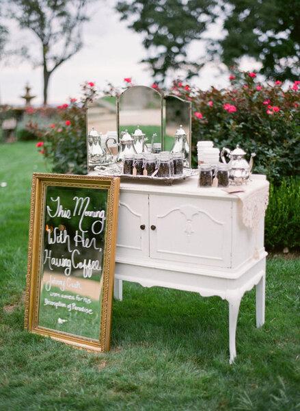 Decoración de boda vintage 2017.
