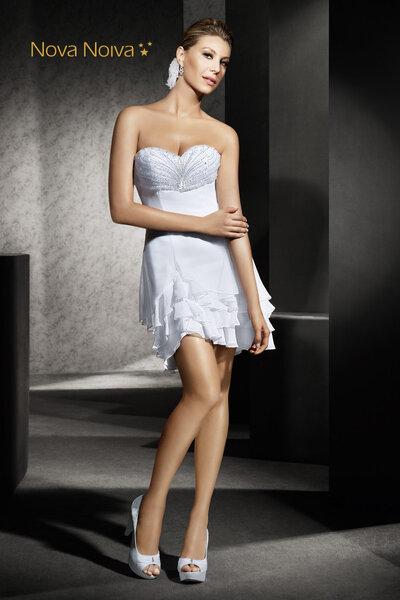 Foto: Vestido Agami curto - Coleção Alpha.