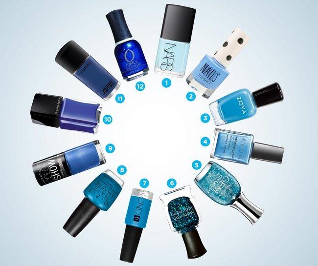 Tips para una novia en color azul cielo - Tonos azules ...