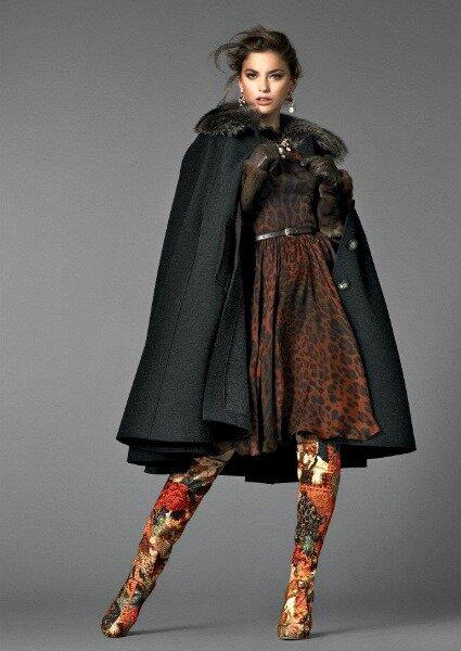 Vestido de Dolce & Gabbana, Colección 2013