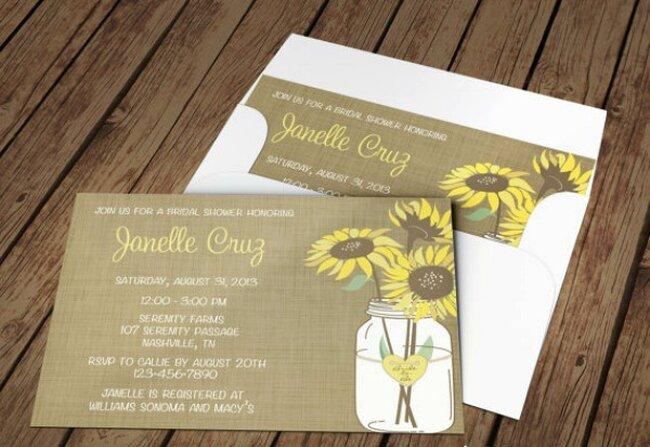 Sonnenblumen als Hochzeitsdetail
