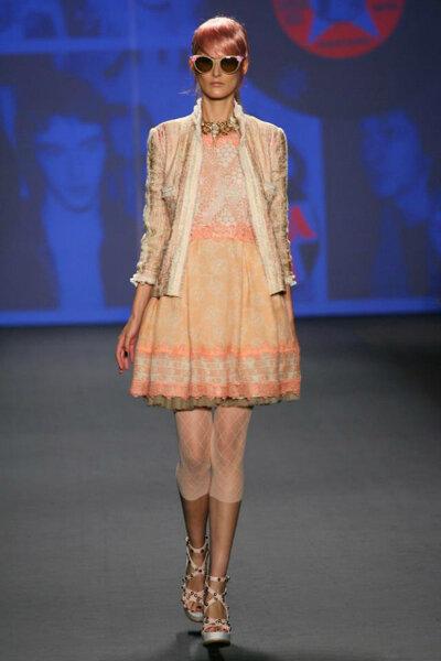 Colecção Anna Sui primavera/verão 2013. Foto: Anna Sui @ Mercedes Benz Fashion Week