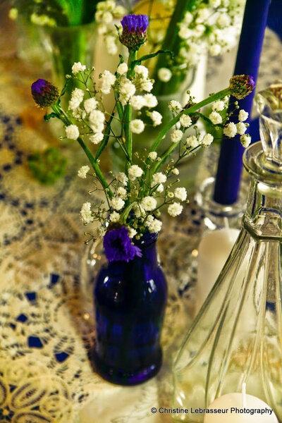 Arreglos florales que evocan el más puro romanticismo francés - Foto Christine Lebrasseur
