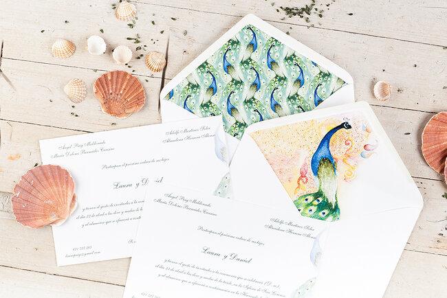 Invitaciones de boda 2017.