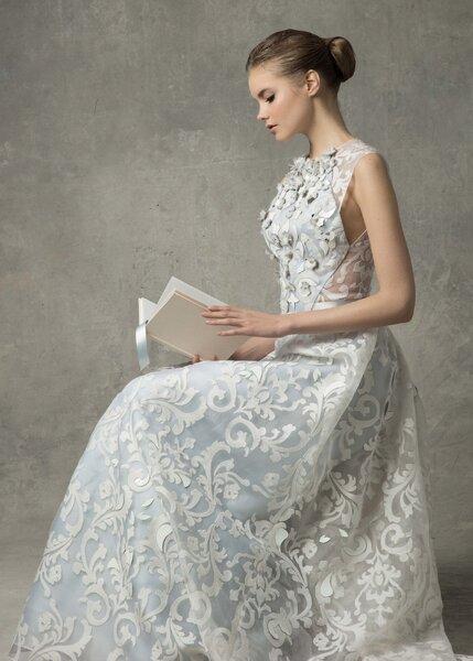 Vestidos de novia Ángel Sánchez 2017