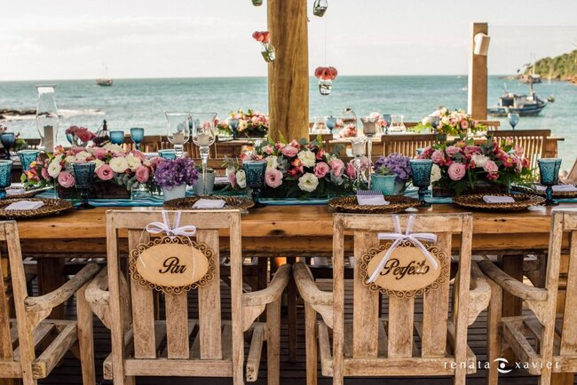 29 ideias LINDAS para decorar as cadeiras do casamento em 2016 Image: 4