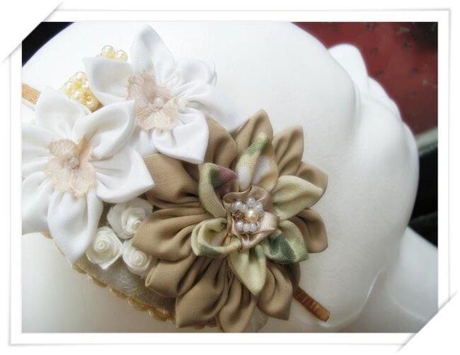 Diadema de novia vintage para tu tocado de novia