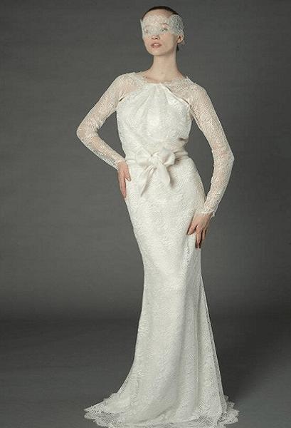 Brautkleider für eine Winterhochzeit aus den Kollektionen für 2013