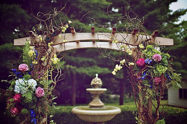 Los más lindos altares de boda para tu ceremonia religiosa - Foto Ambiance Chic Weddings Designs