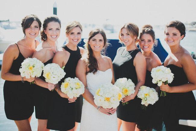 Una boda con detalles marinos en un elegante club de yates - Foto Chaz Cruz Photographer