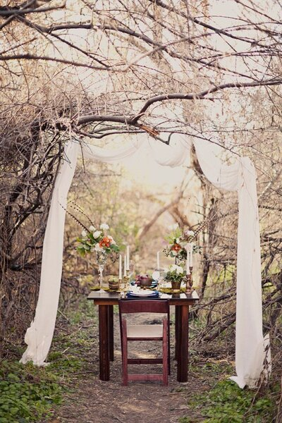 Into The Woods Wedding Decor Inspiration