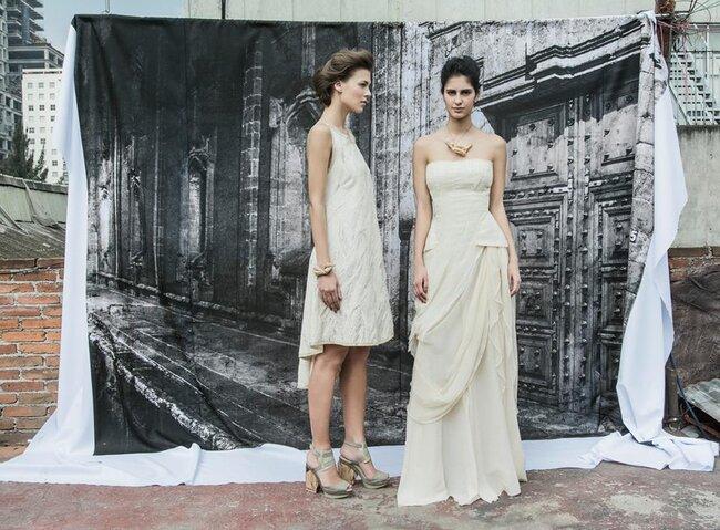 Vestidos de Trista en Mercedes Benz Fashion Week México