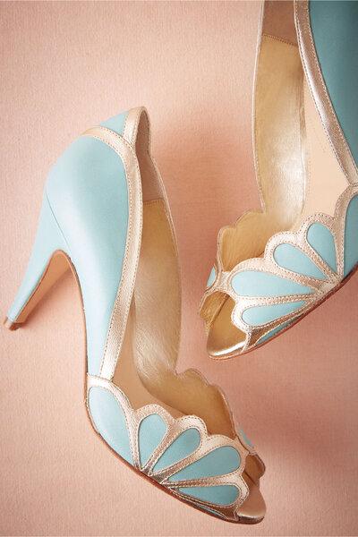 Isabella Scalloped Heel, Bhldn.