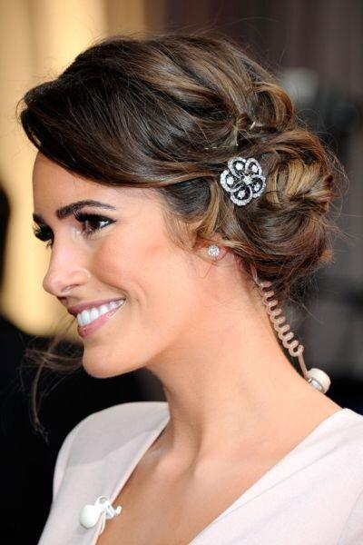 Louise Roe en los Oscars 2012. Foto Stylebistro.com