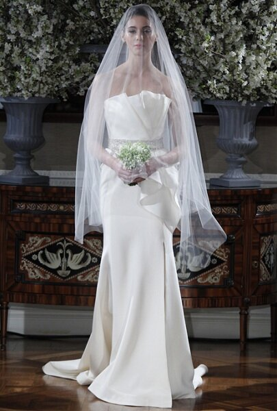 Romona Keveza 2013 na NY Bridal Fashion Week. Foto: Divulgação