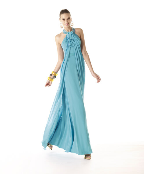 Vestidos de fiesta para invitadas Pronovias 2014