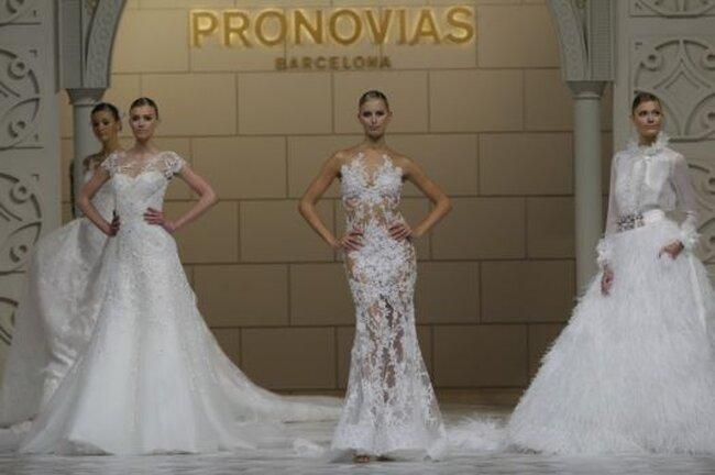 Colección de vestidos de novia Pronovias 2015