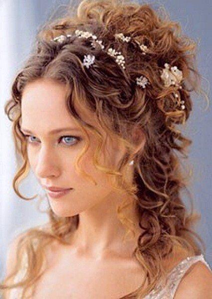 Corona de flores para novias 2