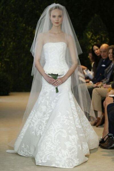 Vestido de novia de Carolina Herrera - Colección Primavera 2014