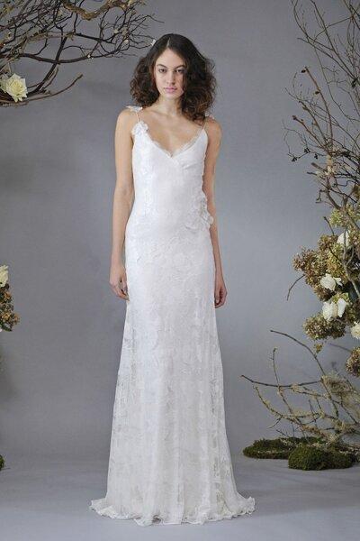 Suknia ślubna projektu Elizabeth Fillmore na2014 rok