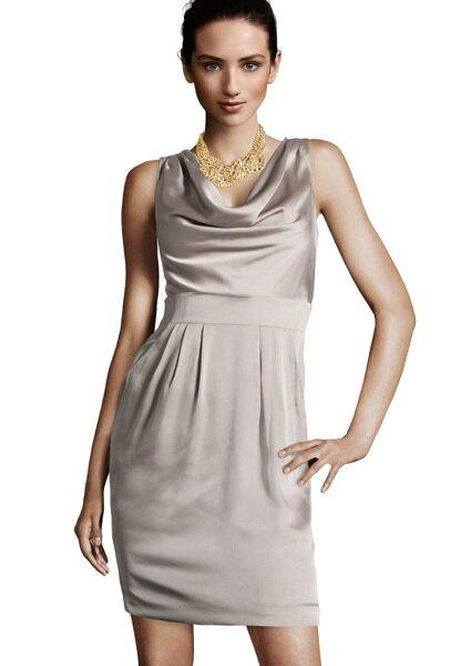Robe courte nude H&M