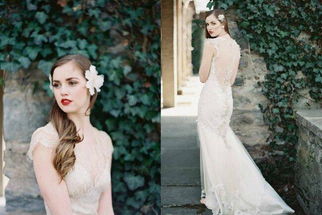 Brautkleid von Claire Pettibone. Foto: Laura Gordon