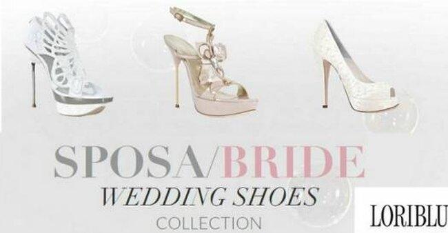 Sapatos para noivas de Loliblu, coleção 2012. Foto: Loliblu