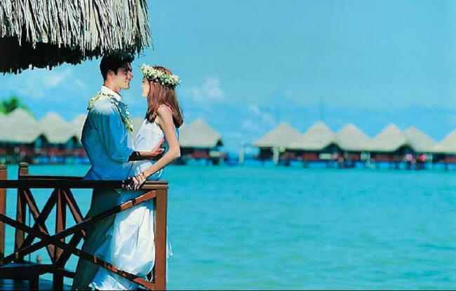 Tahiti, in Polinesia