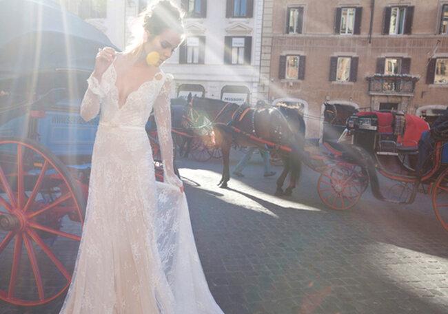 Vestido clássico e elegante. Foto: Campanha Inbal Dror