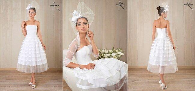 Suknia ślubna 2014 z kolekcji projektantów Fulara&Żywczyk