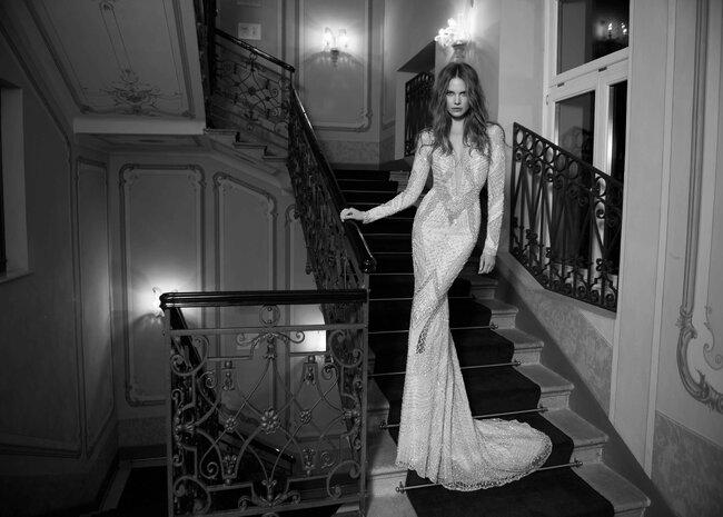 Modelo de Berta Bridal.