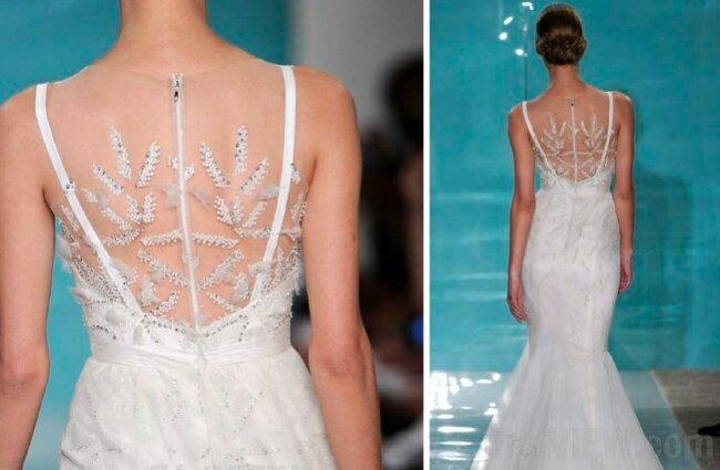 Suknia ślubna z kolekcji Reem Acra 2013