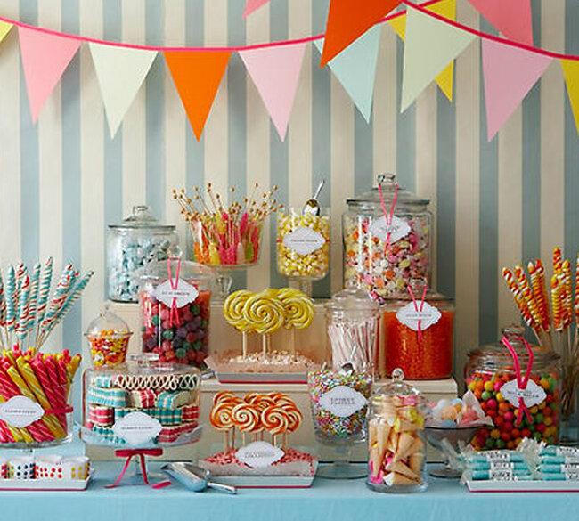 Ideas del Candy Bar para tu boda