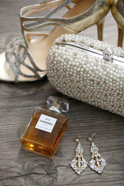 Joyas de novia con perlas.