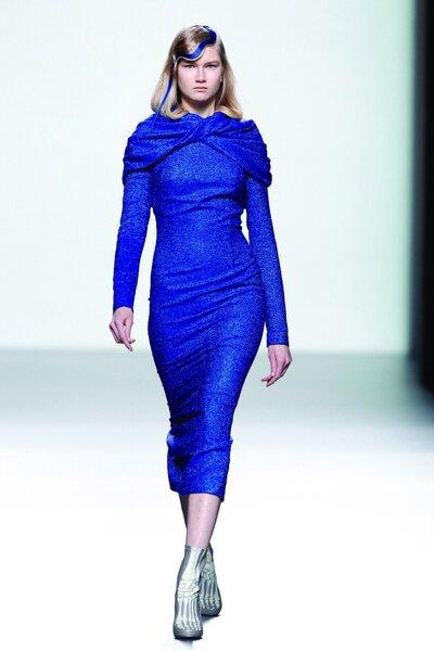 María Barros Otoño/Invierno 2014. Foto: Mercedes Fashion Week Madrid