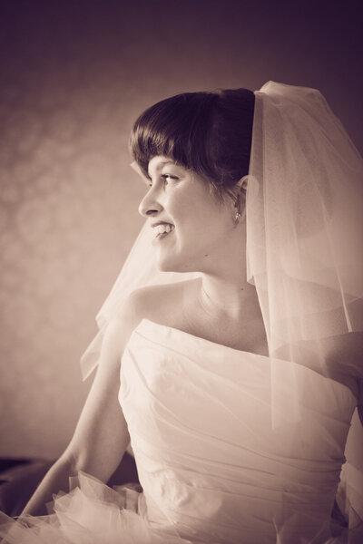 Sluier voor de romantische bruid