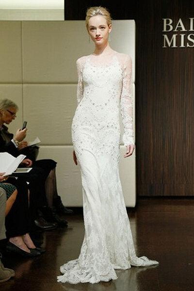 Badgley Mischka Fall 2013 Bridal Collection