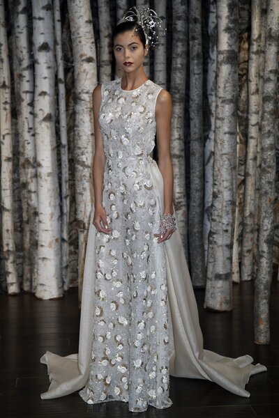 Foto: Naeem Khan 2015  - New York Bridal Week