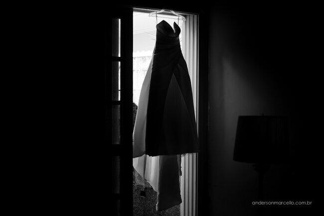O vestido da noiva Internovias. Foto: Anderson Marcello